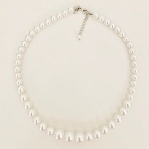Express Beaded Pearl Necklace